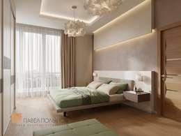 minimalistic Bedroom by Студия Павла Полынова