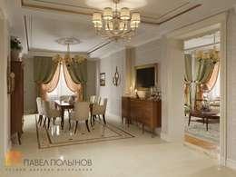 غرفة السفرة تنفيذ Студия Павла Полынова