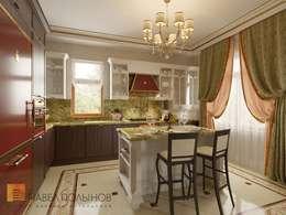 مطبخ تنفيذ Студия Павла Полынова