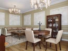 Projekty,  Salon zaprojektowane przez Студия Павла Полынова