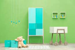 Recámaras para bebés.: Habitaciones infantiles de estilo  por MARIANGEL COGHLAN