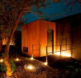 SARGRUP İNŞAAT VE ENERJİ LTD.ŞTİ. – VIVOOD Landscape Hotel: minimal tarz tarz Evler