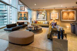 modern Living room by Línea Vertical