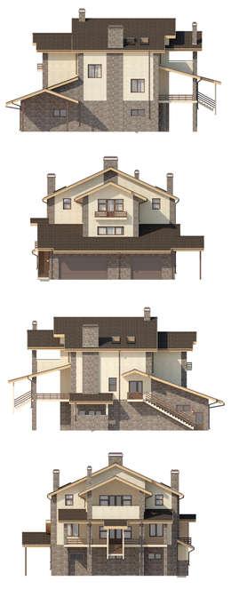 Сиера_530 кв.м.: Дома в . Автор – Vesco Construction