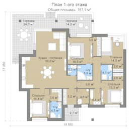 Лахти_167,5 кв.м.:  в . Автор – Vesco Construction