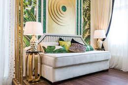 tropical Nursery/kid's room by Tony House Interior Design & Decoration