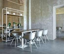 Projekty,  Ściany i podłogi zaprojektowane przez Spadon Agenturen