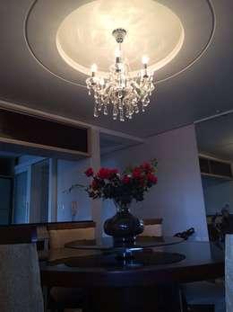 modern Dining room by LK Engenharia e Arquitetura