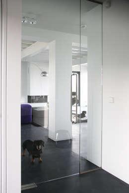 Projekty,  Salon zaprojektowane przez Arend Groenewegen Architect BNA