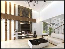 Salas / recibidores de estilo moderno por KARU AN ARTIST