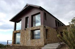 Casa en San Martín de los Andes: Casas de estilo moderno por CaB Estudio de Arquitectura