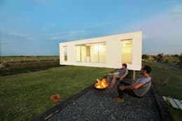 Projekty,  Taras zaprojektowane przez BAM! arquitectura