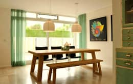 modern Dining room by Atelier09