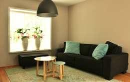 modern Living room by Atelier09