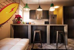 industrial Kitchen by STUDIO DOTT. ARCH. GIANLUCA PIGNATARO