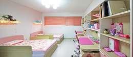ห้องนอนเด็ก by 윤성하우징
