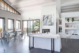 Matthieu GUILLAUMET Architecte:  tarz Ev İçi