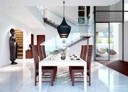 Comedores de estilo moderno por LK&Projekt GmbH