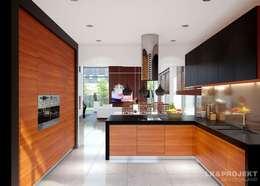 Cocinas de estilo moderno por LK&Projekt GmbH