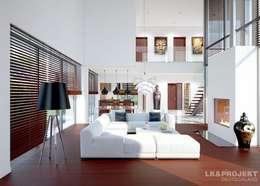 Salas de estilo moderno por LK&Projekt GmbH