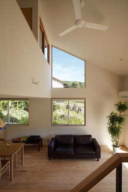ห้องนั่งเล่น by toki Architect design office