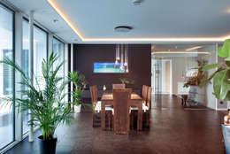 Salle à manger de style de style Asiatique par Klaus Geyer Elektrotechnik