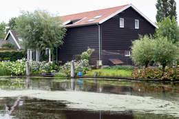 Projekty, rustykalne Domy zaprojektowane przez Brand BBA I BBA Architecten