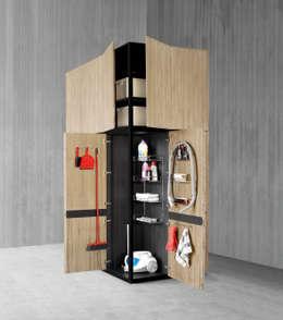 Projekty,  Kuchnia zaprojektowane przez A-partment