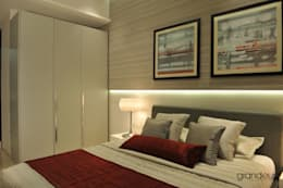 Bedroom 2: modern Bedroom by Grandeur Interiors