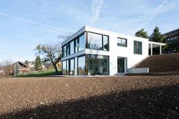 moderne Huizen door Mader Marti Architektur ETH SIA