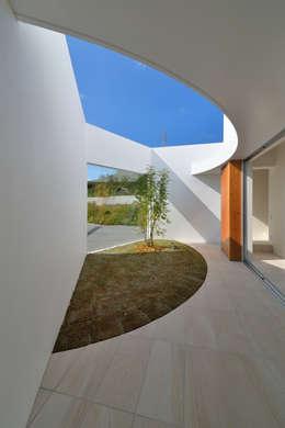 ODMR-HOUSE: 門一級建築士事務所が手掛けた庭です。