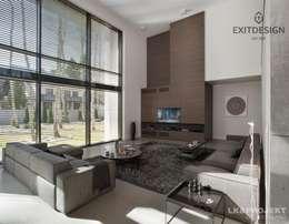 modern Living room by LK&Projekt GmbH