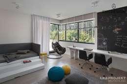 modern Nursery/kid's room by LK&Projekt GmbH