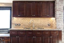 Cocinas de estilo  por H-abitat Diseño & Interiores