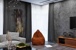 Livings de estilo industrial por Студия дизайна Interior Design IDEAS