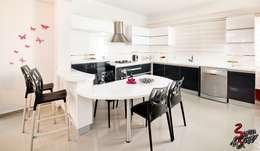 Şölen Üstüner İç mimarlık – Fatoş -Halil Kaan evi / Boğaz: modern tarz Mutfak