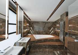 Nuevo Tasarım – Ankara Villa Projesi: modern tarz Banyo