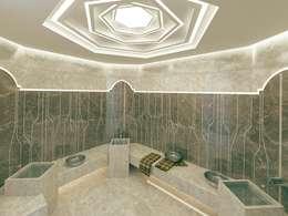 Nuevo Tasarım – Ankara Villa Projesi: modern tarz Spa