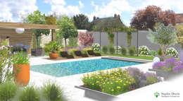 Jardin à Fontenay-le-Vicomte - 91 (Projet en cours ): Jardin de style de style Moderne par  Sophie Durin   Empreinte Paysagère