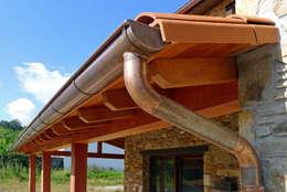 Hiên, sân thượng by AD+ arquitectura