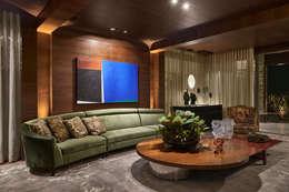 classic Living room by Gislene Lopes Arquitetura e Design de Interiores