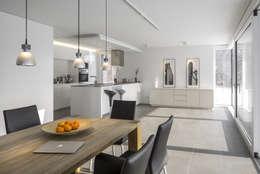 Neubau Wohnhaus P: moderne Esszimmer von gerken.architekten+ingenieure