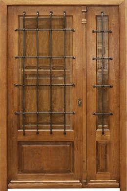 Puertas y ventanas de estilo moderno por Conely