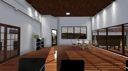 Casa-0 - Área de receber:   por Danyel Iglesias Lopes Arquitetura
