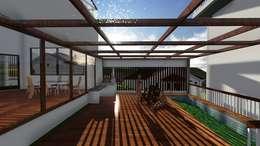 Casa-0 - Área de lazer:   por Danyel Iglesias Lopes Arquitetura