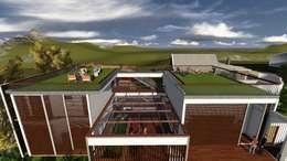 Casa-0 - Telhado verde:   por Danyel Iglesias Lopes Arquitetura