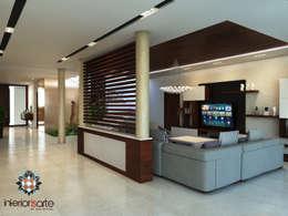 Salas de estilo moderno por Interiorisarte