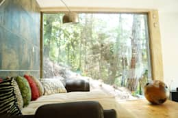Dormitorios de estilo minimalista por T+E ARQUITECTOS