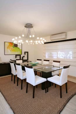 modern Dining room by Objetos DAC