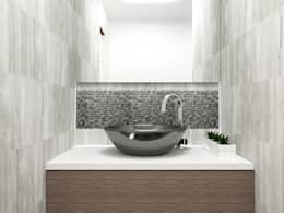 Projekty,  Łazienka zaprojektowane przez LUOVA Interiorismo